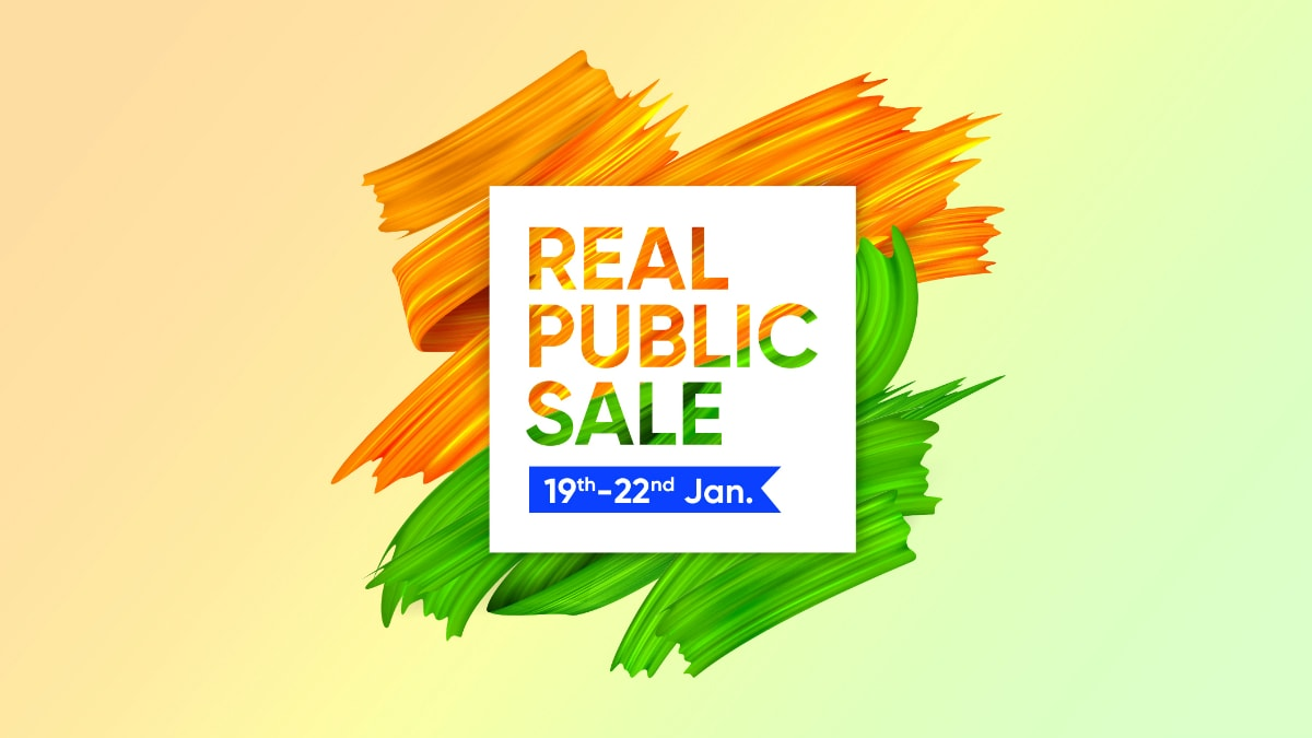 Realme Realpublic Sale Begins January 19: Price Cuts on Realme 5 Pro, Realme 3, Realme Buds Wireless