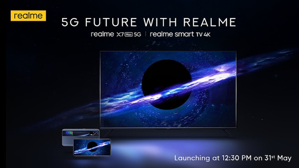 Realme Smart TV 4K With Dolby Vision and Dolby Atmos to Launch in India on May 31