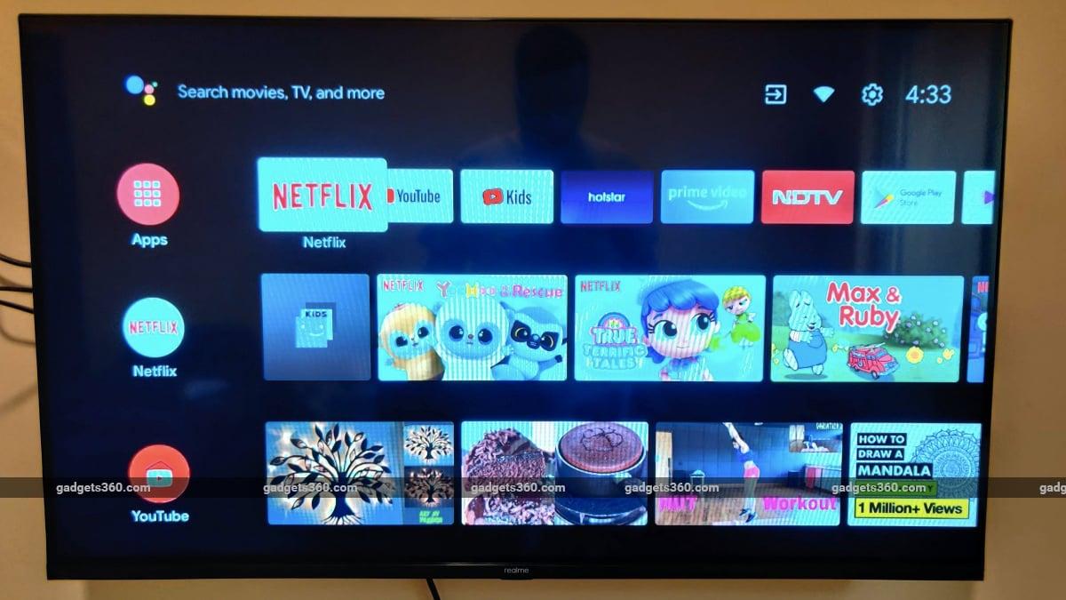 realme smart tv front Realme  Realme Smart TV