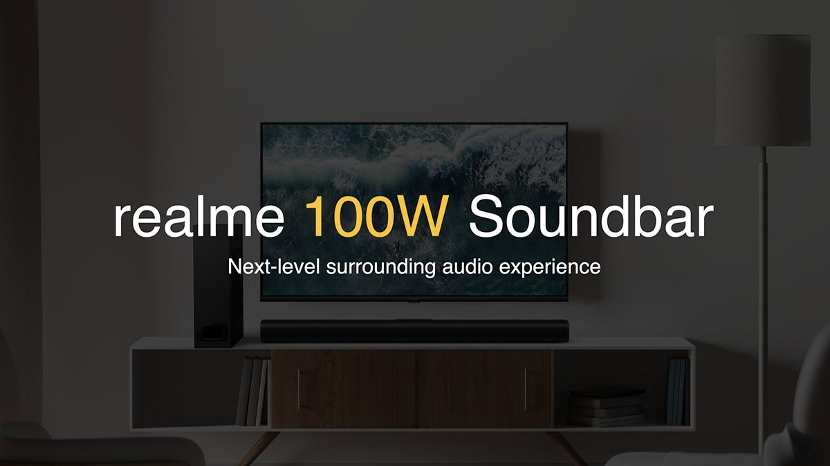 Realme Soundbar Teased, Five Speaker System Could Launch in India Soon - Gadgets 360