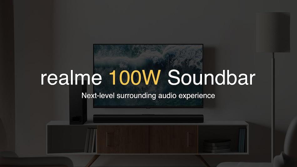 Realme Soundbar Teased, Five Speaker System Could Launch in India Soon