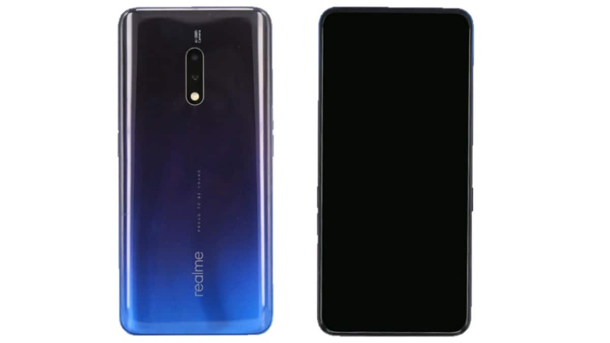 Realme flagship smartphone with model number RMX1901 visits TENAA