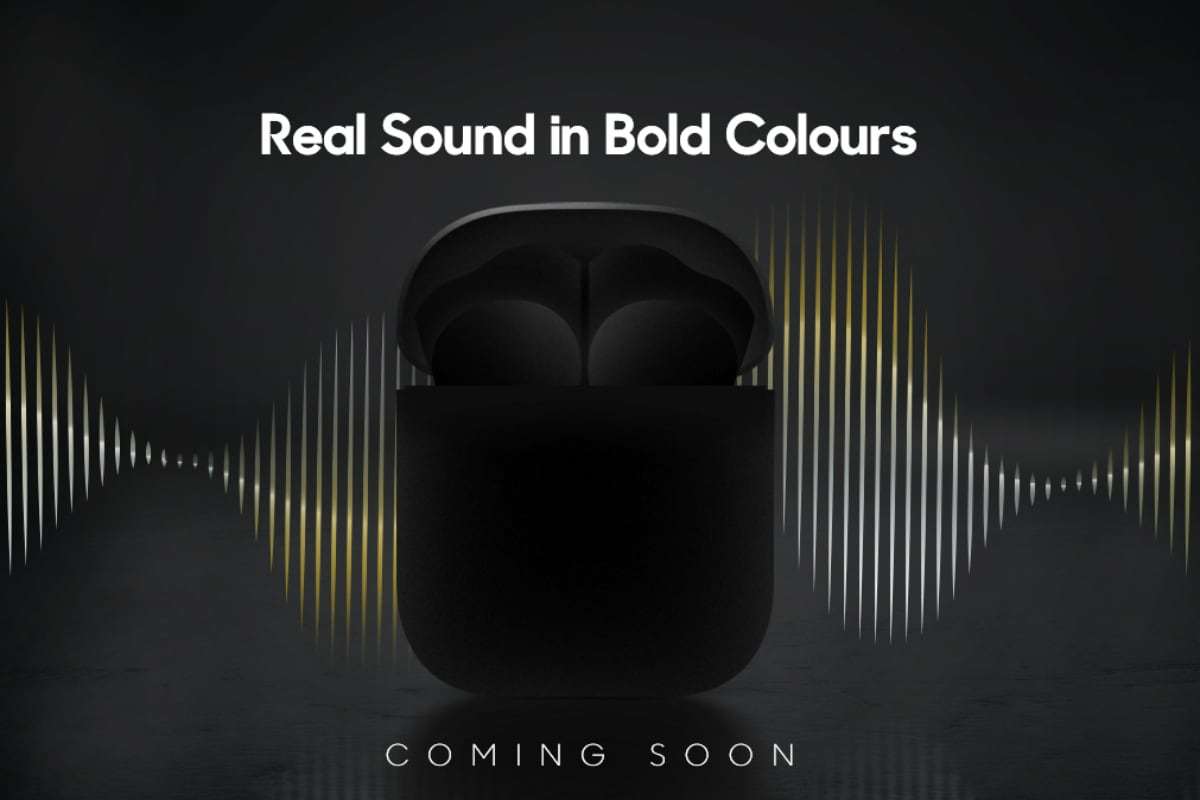 realme truly wireless earbuds teaser twitter realme Realme