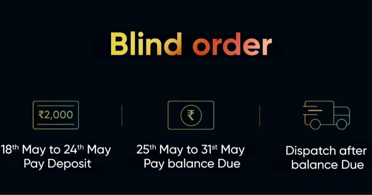 Realme TV Blind Orders Go Live With Rs. 2,000 Deposit Ahead of May 25 Launch