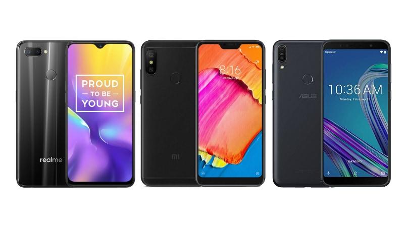 Realme U1 vs Asus ZenFone Max Pro M1 vs Xiaomi Redmi Note 6 Pro