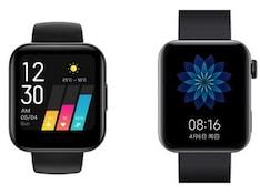 Realme Watch vs Xiaomi Mi Watch: Price, Specifications Compared