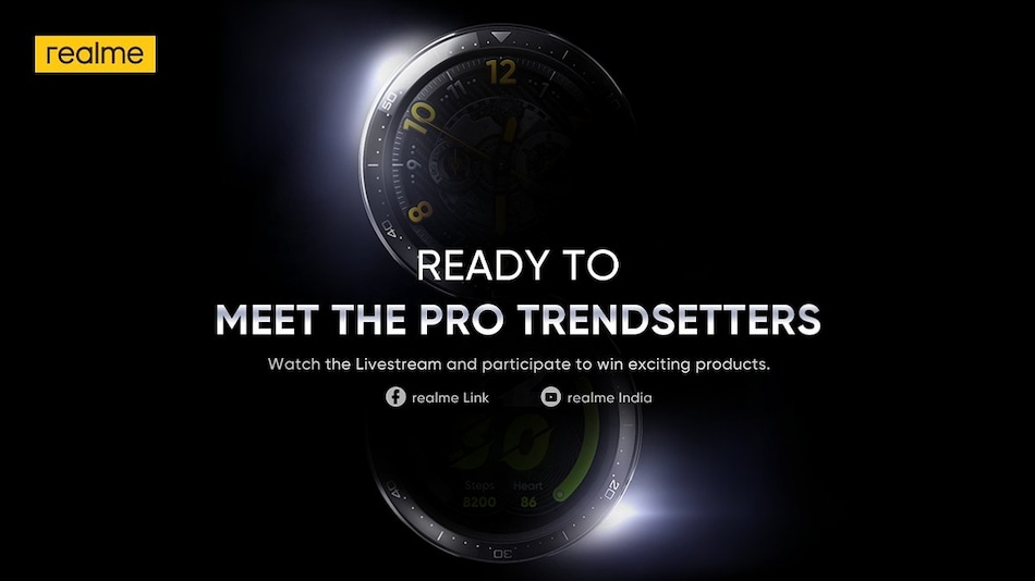 Realme Watch S Pro, Realme Watch S India Launch Teased