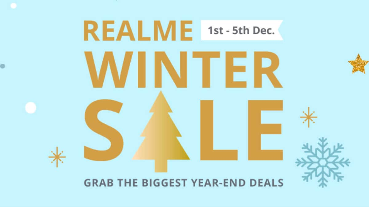 Realme 5 Pro, Realme C2, Realme 3 Pro, and Others Get Discounts During Realme Winter Sale