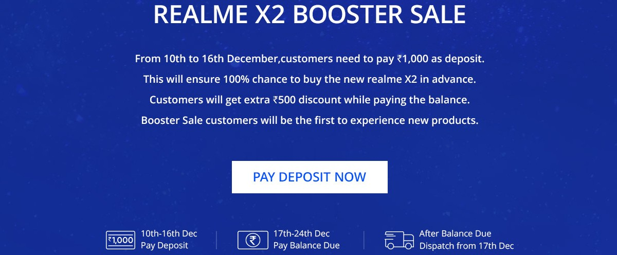 realme x2 booster Sale Realme XT booster