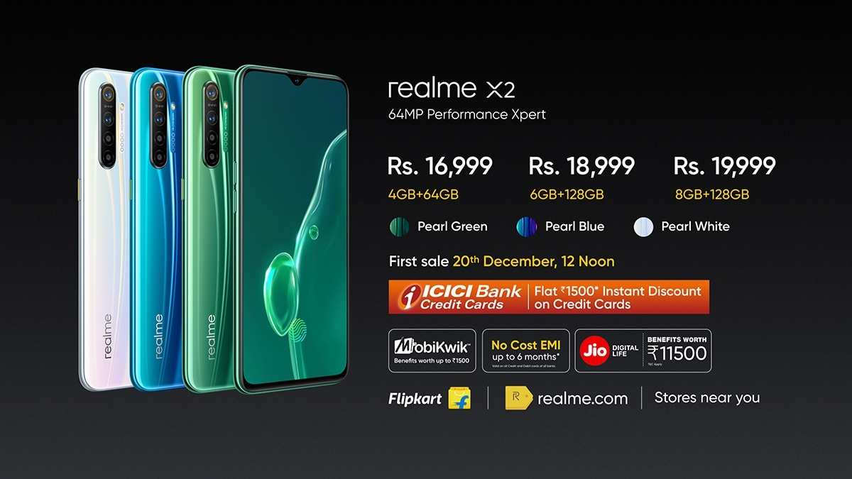 Realme X2 Price in India Starts at Rs. 16,999, Realme Buds Air to Retail at Rs. 3,999: Event Highlights
