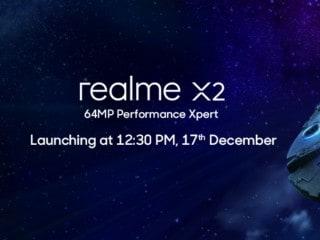 Realme XT 730G हैंडसेट भारत में Realme X2 के नाम से होगा लॉन्च