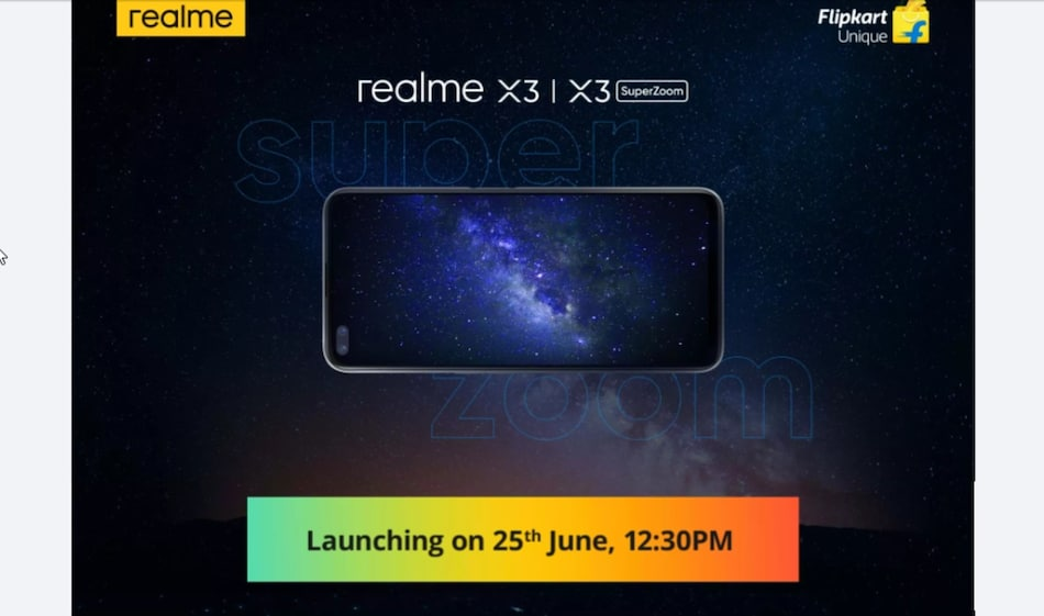Realme X3, Realme X3 SuperZoom Teased on Flipkart Ahead of Launch