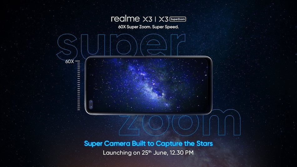 Realme X3, Realme X3 SuperZoom Set to Launch in India on June 25: Expected Price, Specifications