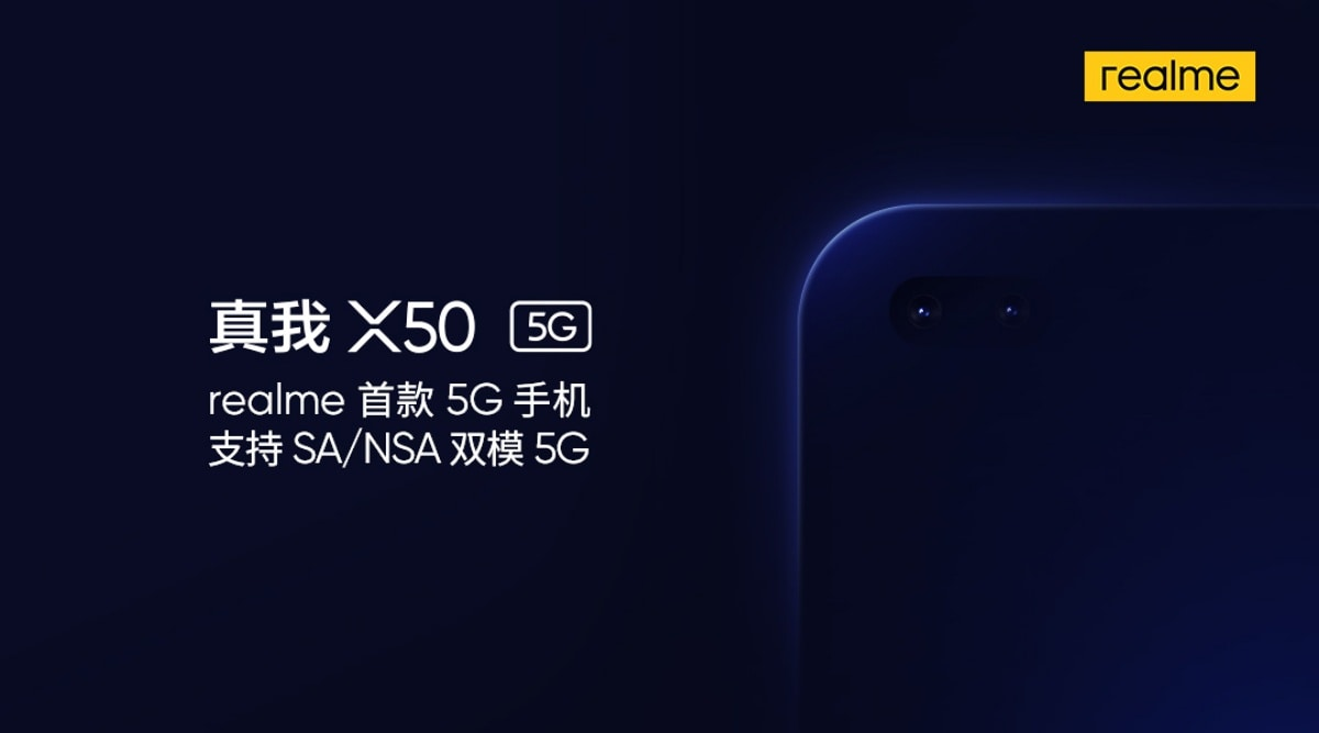 Realme X50, Realme X50 Youth Edition Alleged Specifications Leaked Ahead of Launch