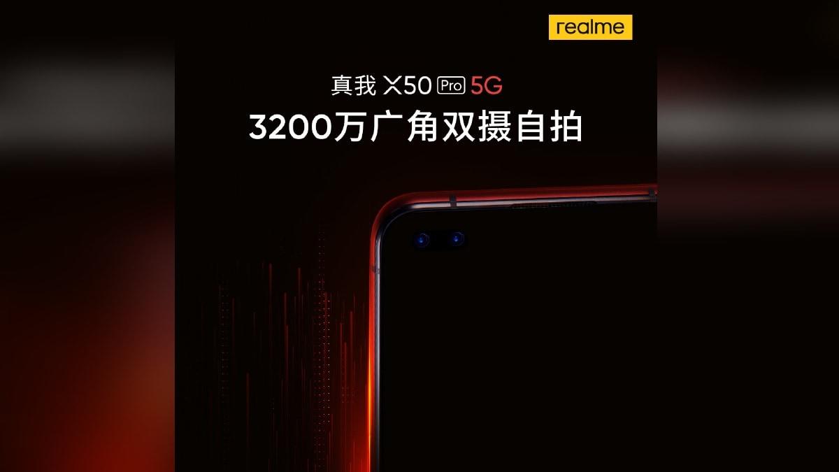 Realme X50 Pro 5G to Pack 32-Megapixel Dual Selfie Camera Setup, Colour Options Revealed