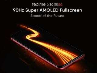 Realme X50 Pro 5G में होगा 90Hz सुपर एमोलेड डिस्प्ले