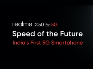 Realme X50 Pro 5G With Qualcomm Snapdragon 865, 65W Charger Launched, Price in India Starts at Rs. 37,999: Highlights