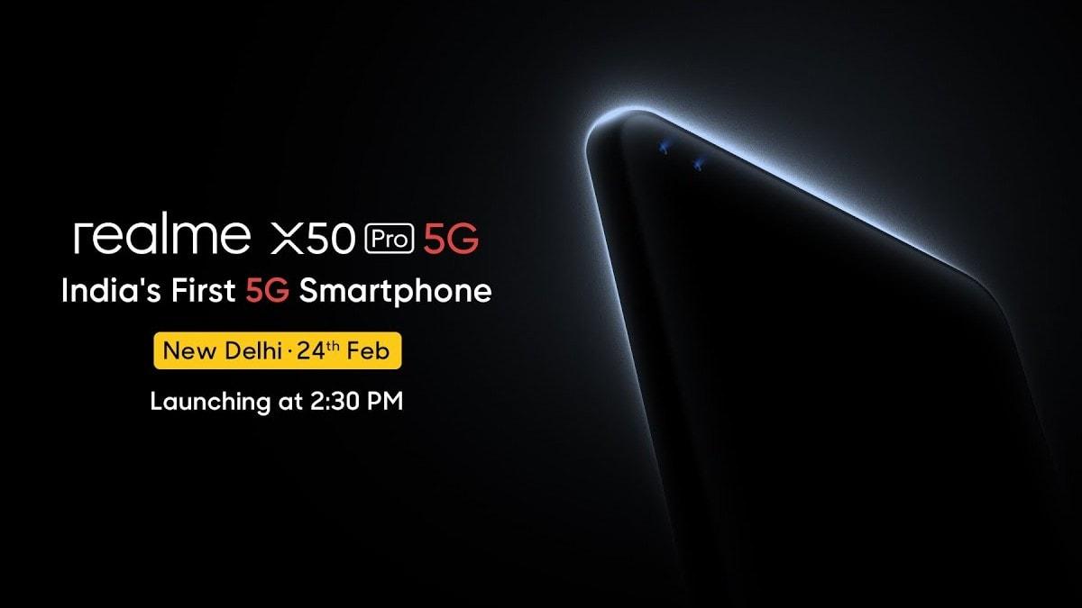 Realme X50 Pro 5G आज होगा भारत में लॉन्च, यहां देखें लाइवस्ट्रीम