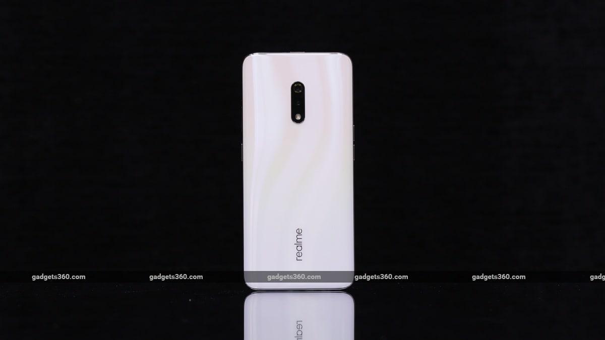 realme x back gadgets 360 Realme X