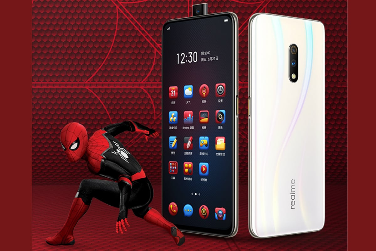 Realme X Spider-Man: Far From Home Edition, Realme X Master Edition Sale Dates Announced