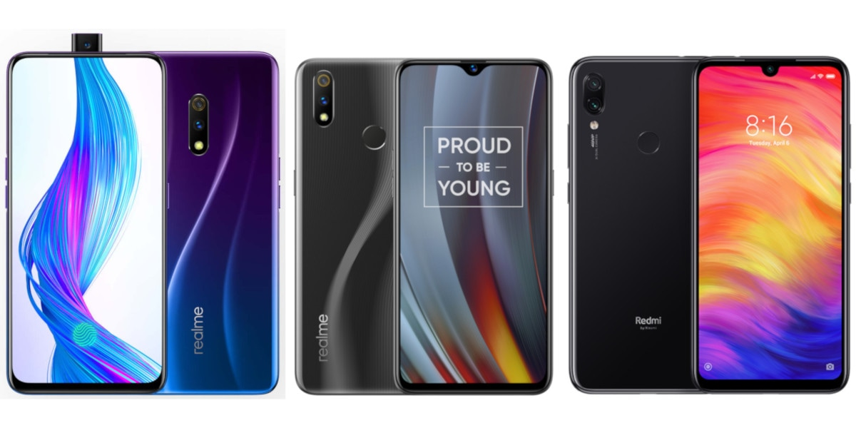 Realme X vs Realme 3 Pro vs Redmi Note 7 Pro: Price in India, Specifications Compared