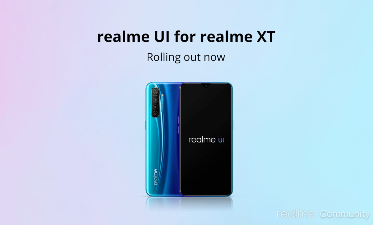 Realme XT Starts Receiving Android 10 Update With Realme UI in India