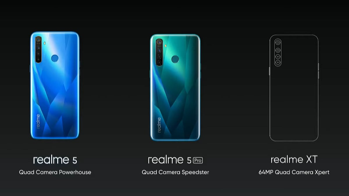 Realme XT Will Be Realme's First 64-Megapixel Camera Phone