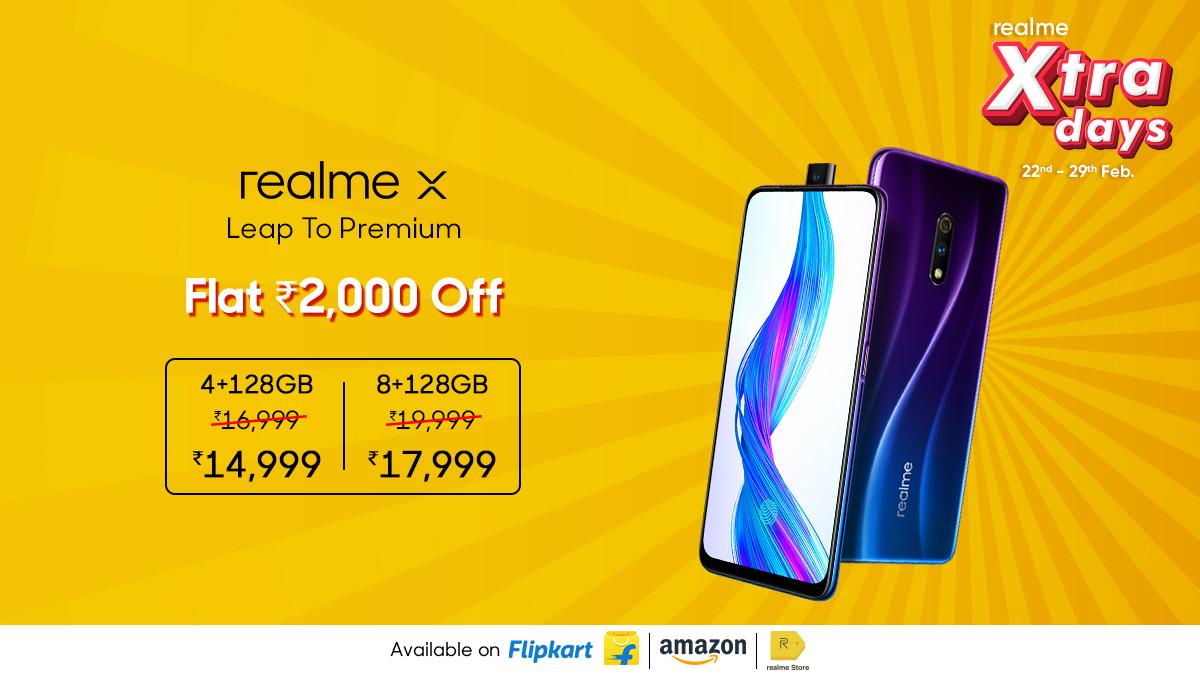 Realme X, Realme XT, Realme 5 Pro Ver recortes de precios de hasta Rs. 2,000 en nueva venta 59
