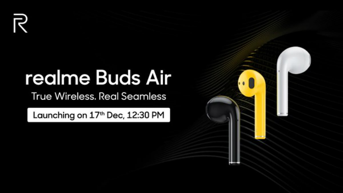 Realme Buds Air Will Be The Name Of Realme S Truly Wireless Earbuds Support For Google Assistant Teased Technology News