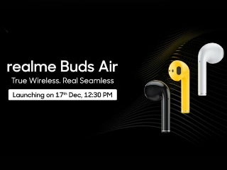 Realme Buds Air Will Be the Name of Realme's Truly Wireless Earbuds, Support for Google Assistant Teased