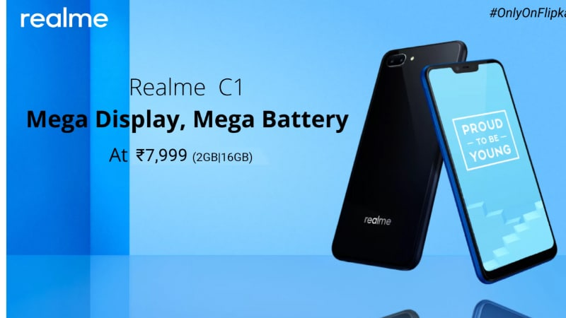 Realme C1 Goes on Sale in India Today via Flipkart