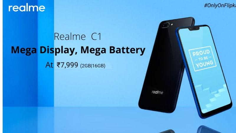Realme C1 Goes on Sale in India Today via Flipkart