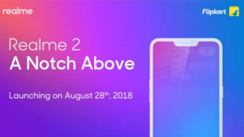Realme 2 to Be Flipkart-Exclusive, Will Be Priced Under Rs. 10,000