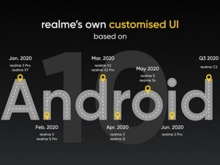 Realme X2 to Get Android 10-Based ColorOS 7 Update in March Next Year