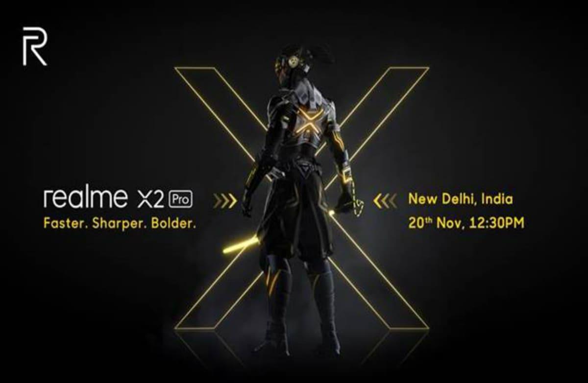 Realme X2 Pro India Launch Set for November 20, Company Confirms