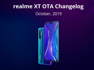 Realme XT Starts Receiving October OTA Update With Dark Mode, Wide-Angle Video Recording, and More