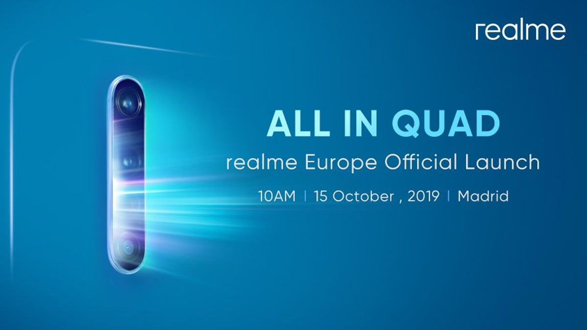 Realme X2 Pro Set to Launch on October 15 With 64-Megapixel Quad Camera, 90Hz Display