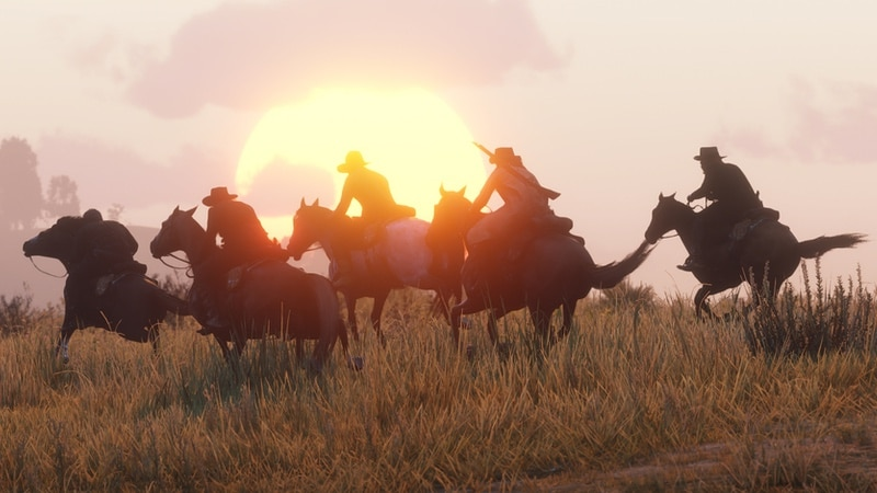 Red Dead Online Gets a New Battle Royale Mode Called Gun Rush