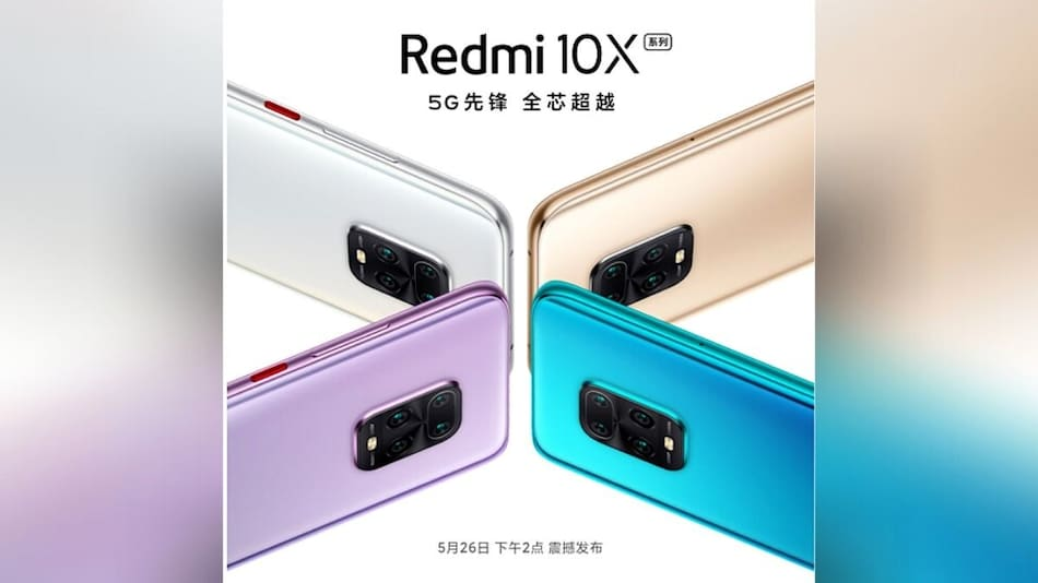 Redmi 10X Listed for Pre-Bookings Ahead of May 26 Launch