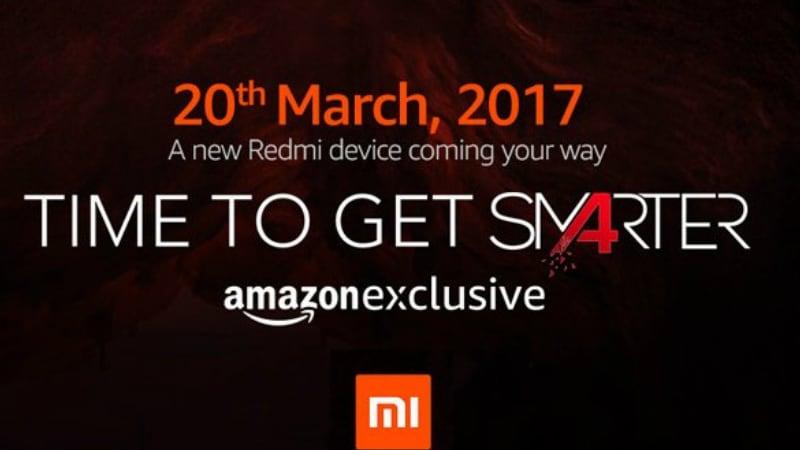 शाओमी रेडमी 4ए सोमवार को भारत में हो सकता है लॉन्च, अमेज़न पर मिलेगा