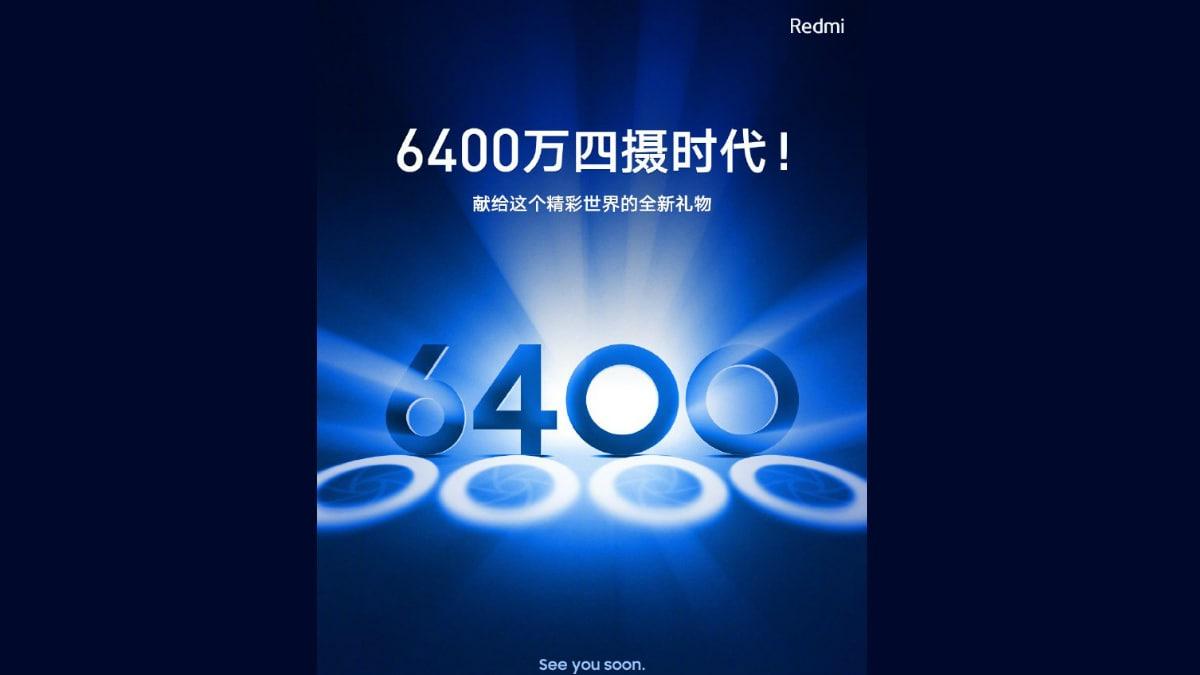 Redmi Phone With 64-Megapixel Sensor Will Feature Quad Camera Setup: Xiaomi