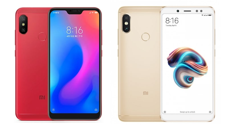 Redmi 6 Pro Vs Redmi Note 5 Pro What S New And Different In Xiaomi