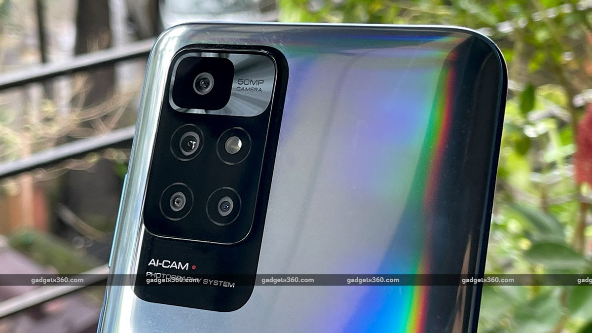 redmi 10 prime back gadgets360 Redmi 10 prime first impressions