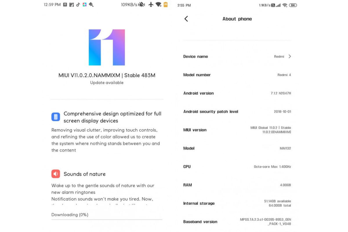 redmi 4 miui 11 update xiaomi forums Redmi 4