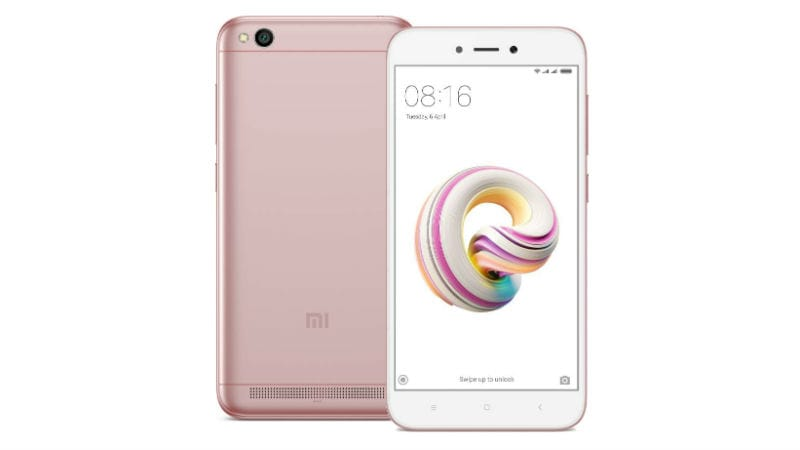 Xiaomi expected to launch Rose Gold Redmi 5A in India tomorrow