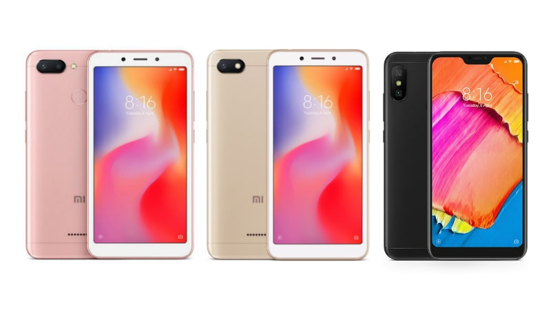 Xiaomi Redmi 6 vs Redmi 6A vs Redmi 6 Pro: Here's How the 3 Xiaomi Phones Differ