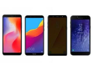 Xiaomi Redmi 6, Realme 1, Honor 7C और Samsung Galaxy J4 में किसे चुनें?
