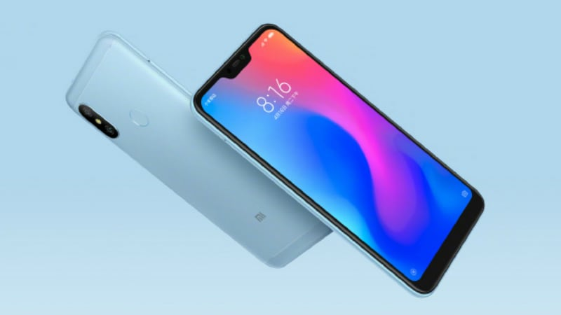 Redmi 6 Pro Sale Today at 12pm, Price in India Starts at Rs. 10,999