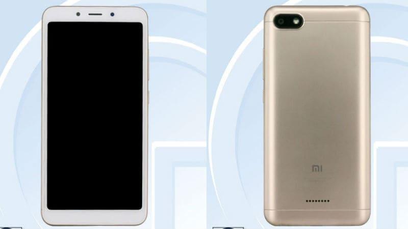 redmi 6 tenaa  Xiaomi  Redmi 6