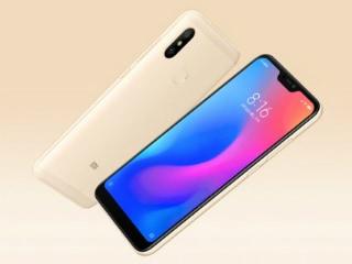 Xiaomi Redmi 6 Pro दिखने में है कुछ ऐसा, इन कलर वेरिएंट में होगा उपलब्ध
